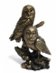 Reflections Bronzed Twin Owls Figurine (LP28623) Juliana Collection